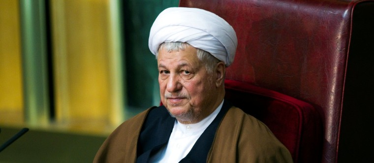 Image: FILE PHOTO: Former Iranian president Ali Akbar Hashemi Rafsanjani attends Iran's Assembly of Experts biannual meeting in Tehran