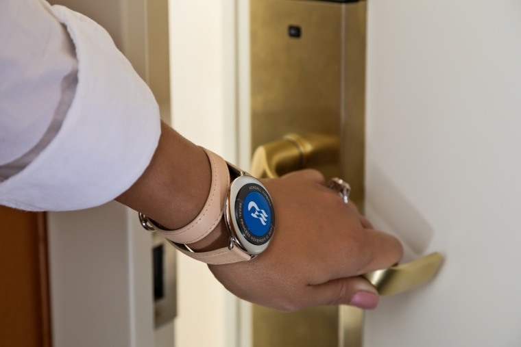 Carnival's OCEAN Medallion wearable will not just help passengers locate friends and family on the massive ships, but will also act as a room key and enable passengers to have drinks brought to their exact location.