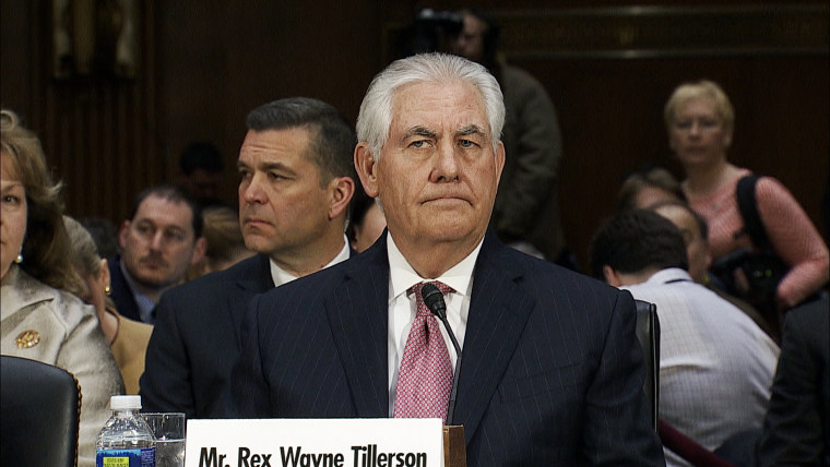 Secretary of State Nominee Rex Tillerson: Russian Hacking 'Clearly is Troubling'