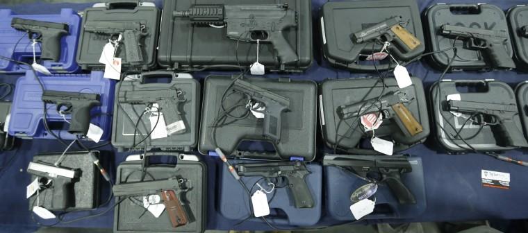 Image: Hand guns