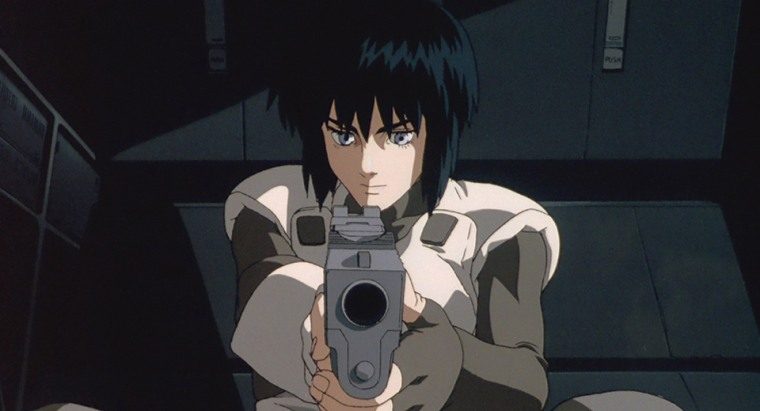 """A still taken from the 1995 version of """"Ghost in the Shell,"""" which will be returning to theaters for two days in February."""
