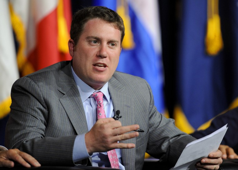 Image: BuzzFeed Editor-in-Chief Ben Smith is seen at the University of Southern California's Schwarzenegger Institute for State and Global Policy Inaugural Symposium in Los Angeles, California on Sept. 24, 2012.