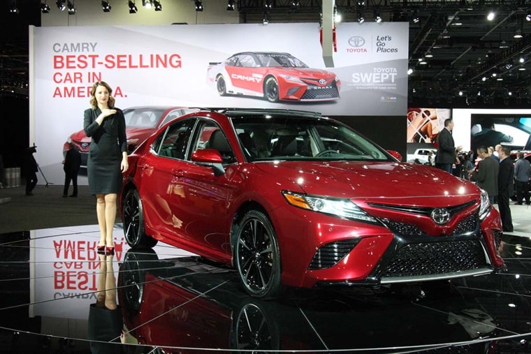 "Credit for the redesigned Camry goes partly to Toyota CEO Akio Toyoda, the grandson of Toyota's founder -- and an amateur race car driver -- who has promised to put more ""passion"" into its products."