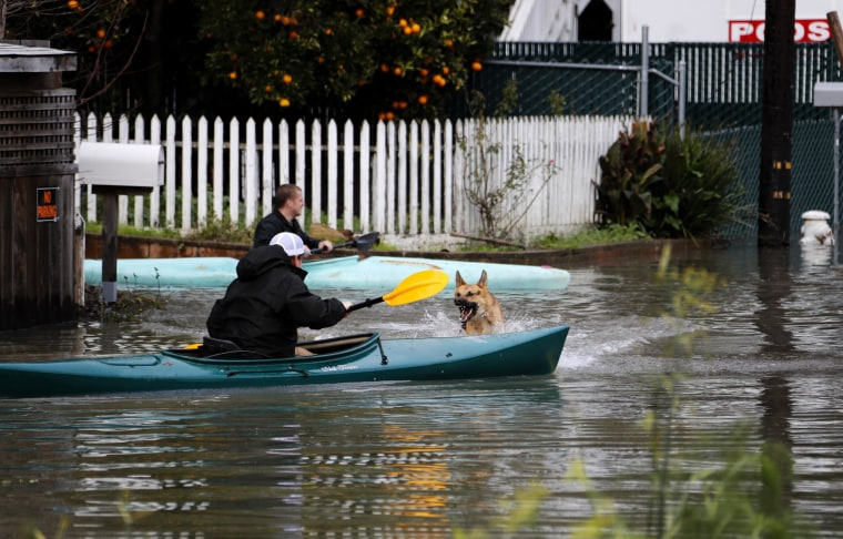 Image: Storms cause flooding in Northern California