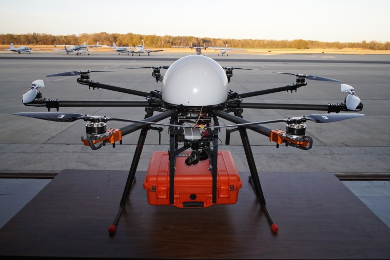 An EMS response drone