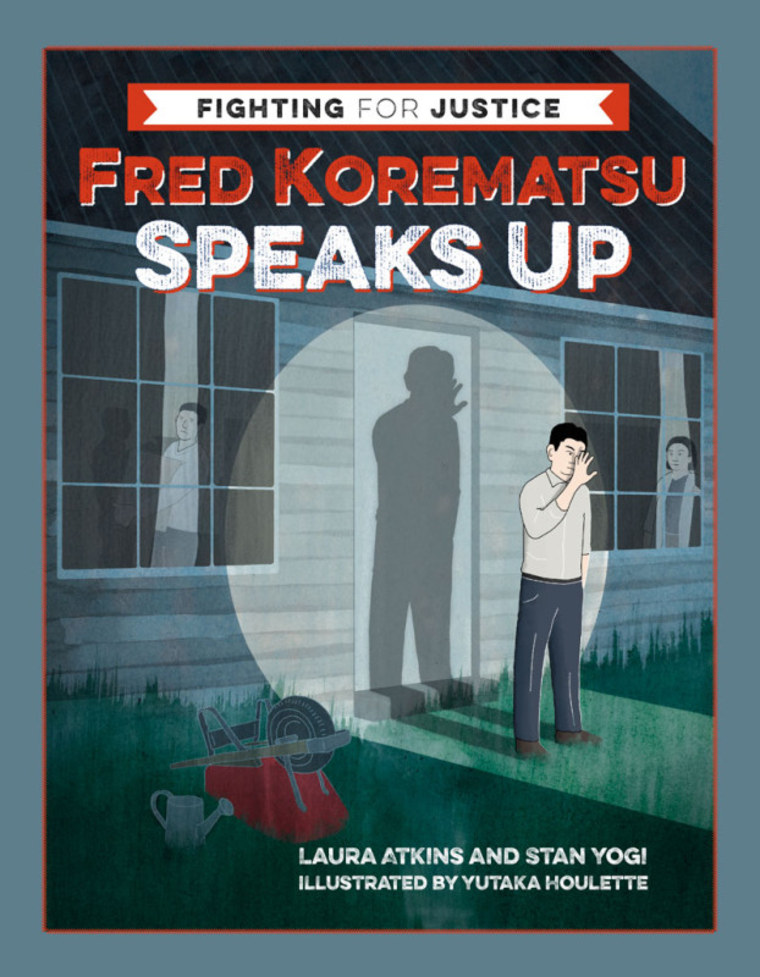 """Fred Korematsu Speaks Up,"" written by Laura Atkins and Stan Yogi and illustrated by Yutaka Houlette, the first in a new series of middle grade books about civil rights history and heroes from Heyday Books."