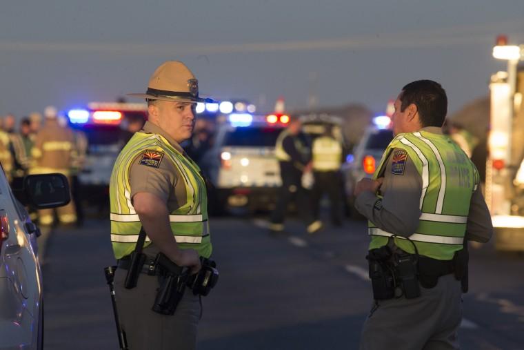 IMAGE: Arizona shooting scene