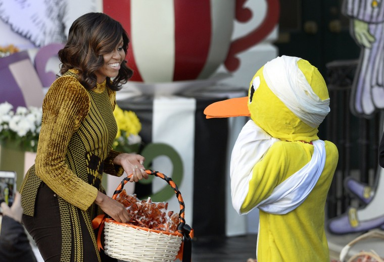 Image: President Obama And First Lady Host Halloween Event At The White House