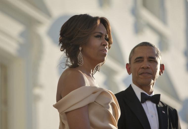 Image: Barack Obama, Michelle Obama,