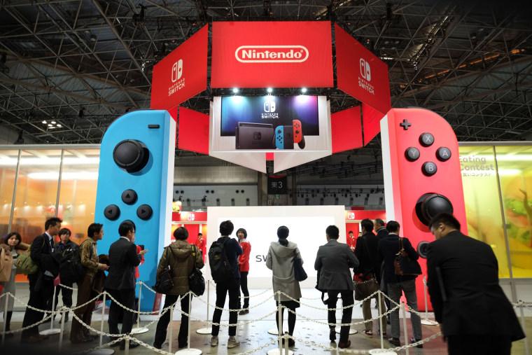 Image: JAPAN-GAMES-NINTENDO-LIFESTYLE