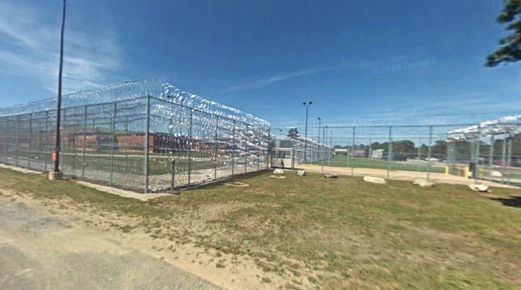This still, taken from Google Street View, shows the exterior of Newberry Correction Facility in Newberry, Michigan, where one of the plaintiffs in the lawsuit was held.