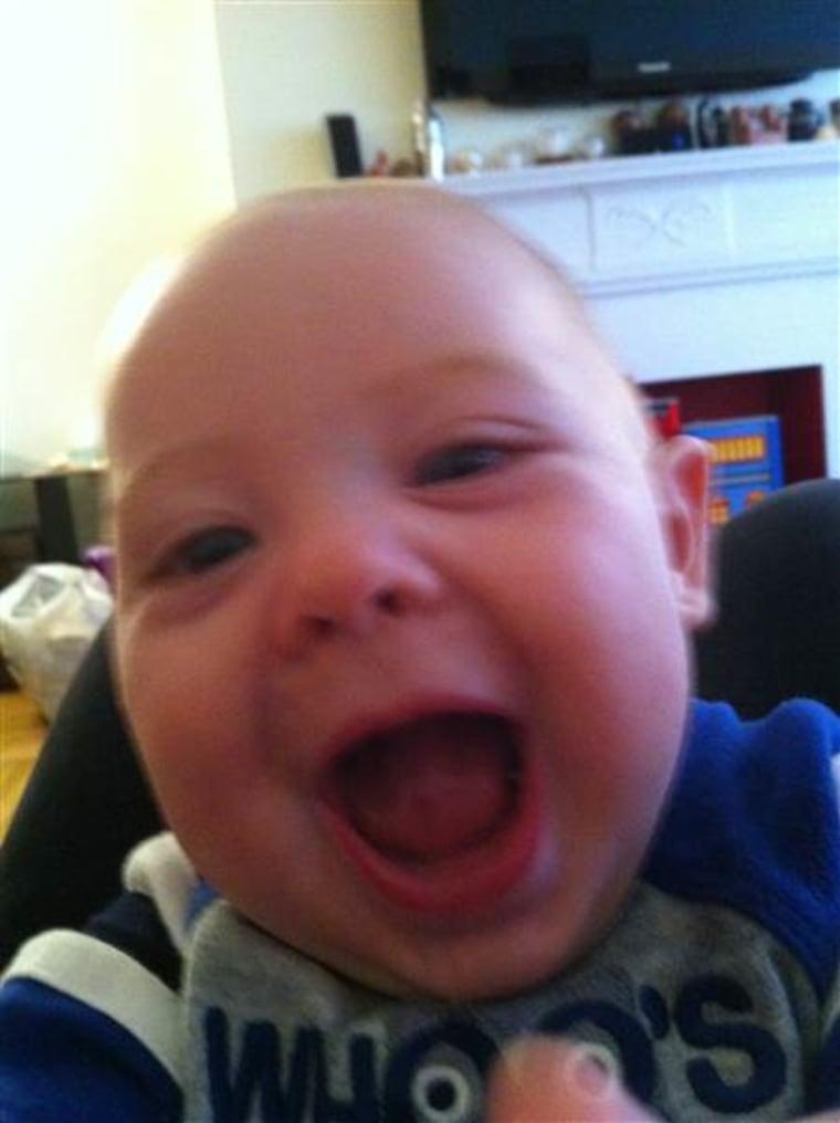 Rebecca Dube's baby Joseph