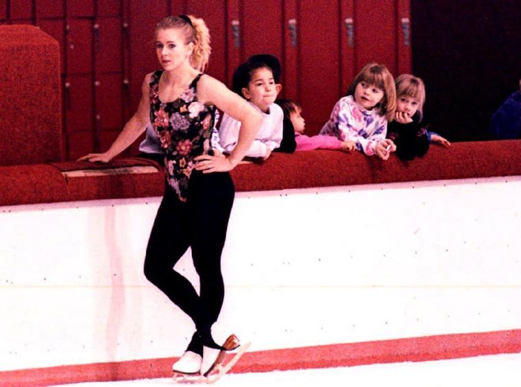 U.S. figure skater Tonya Harding