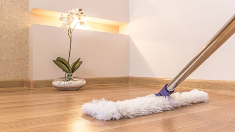Remember that different floors require different types of cleaning.