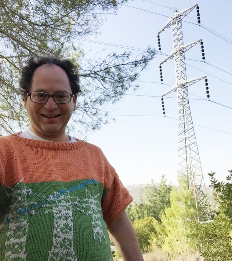Samuel Barsky knits sweaters of places, then visits them.