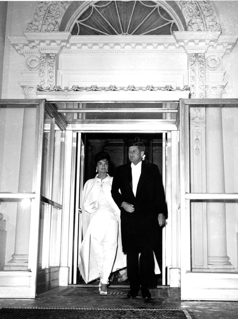 Jacqueline Kennedy inauguration day