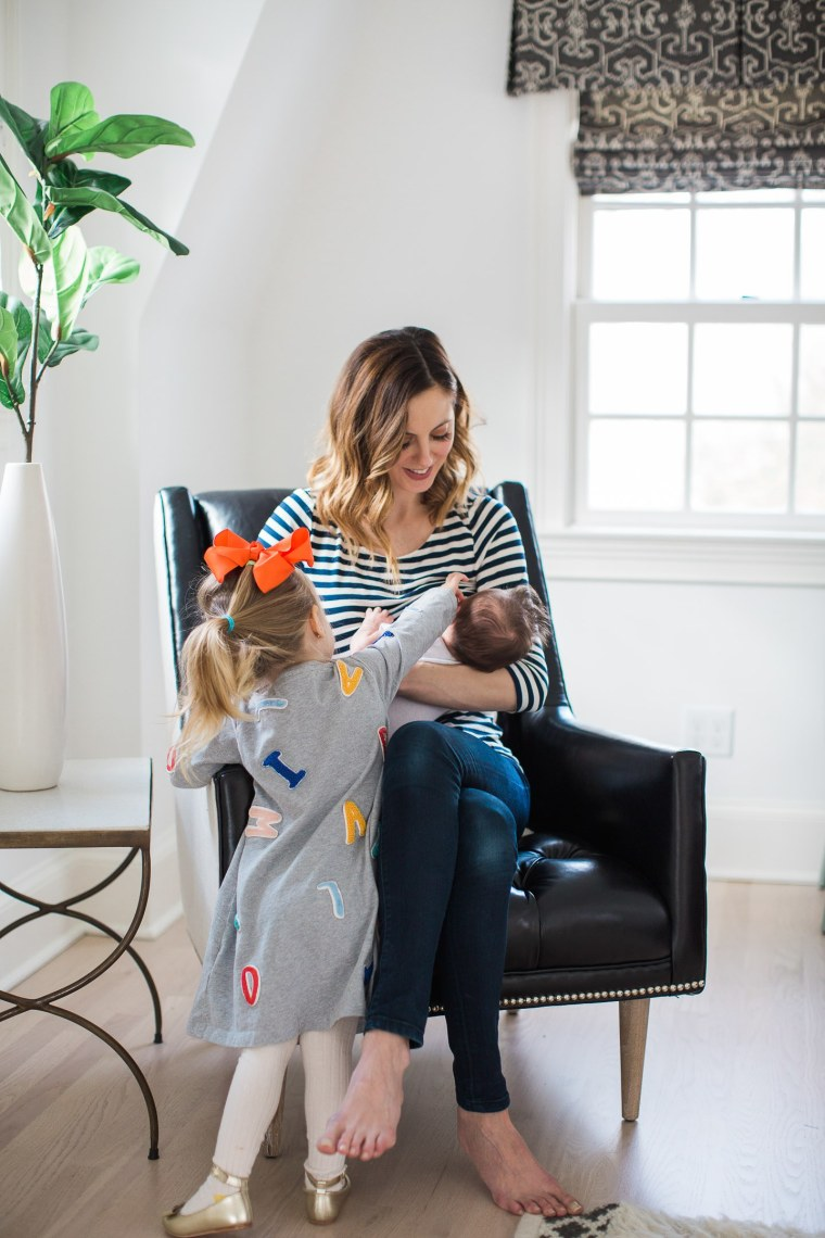 Amurri Martino says she felt relieved after making the difficult decision to stop breastfeeding her son. The actress reminds her fellow mothers that it's important to keep themselves emotionally healthy, so their kids can thrive.