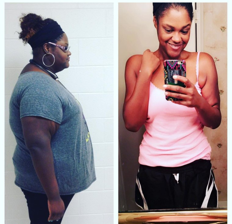 NaTasha Glaspy no longer needs medication for diabetes, blood pressure, or cholesterol thanks to losing 160 pounds. She's no focusing on toning and living a healthy lifestyle.
