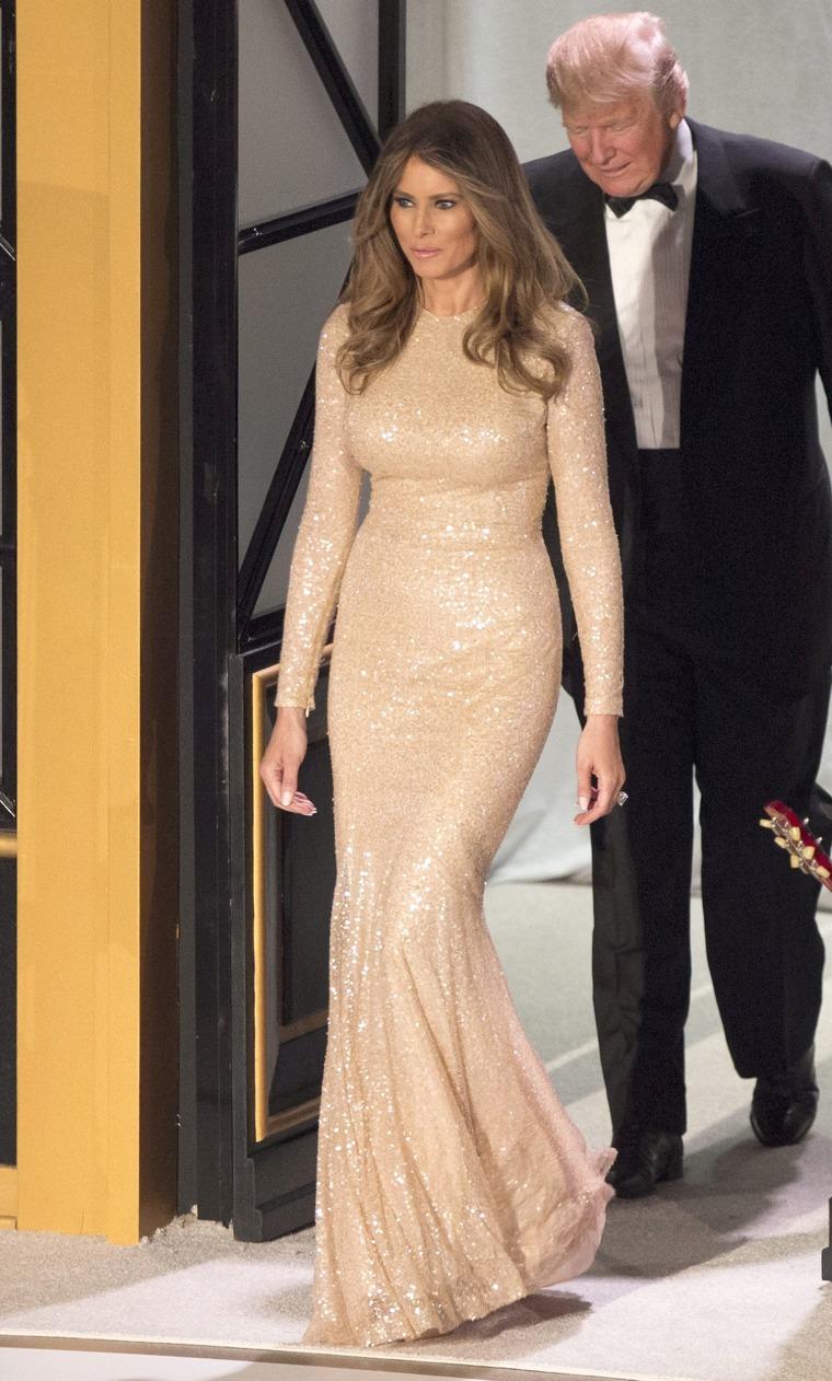 Melania Trump inauguration dress
