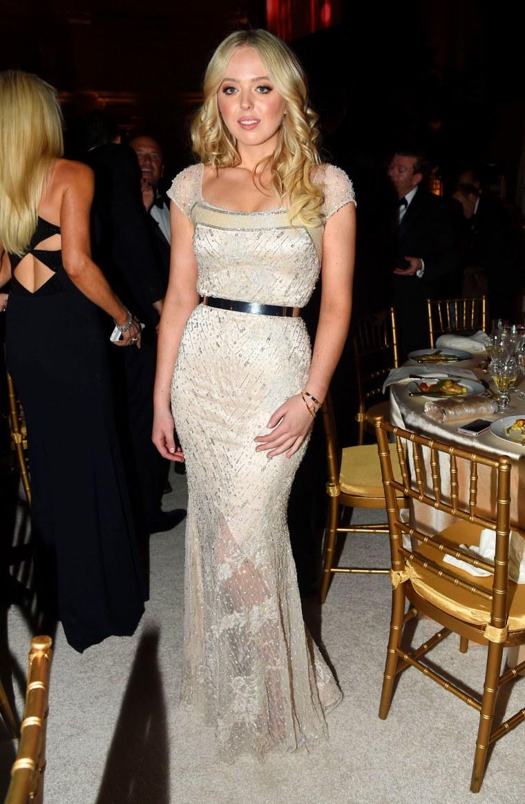 Tiffany Trump inauguration dress