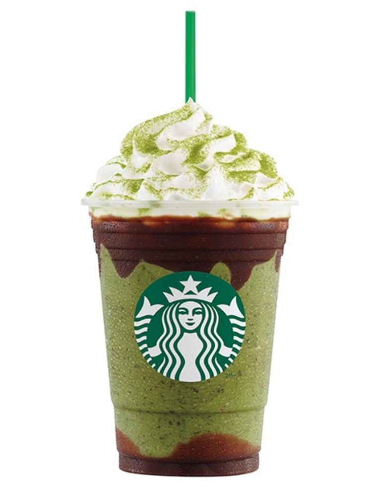 Starbucks Double Chocolate Green Tea Frappuccino