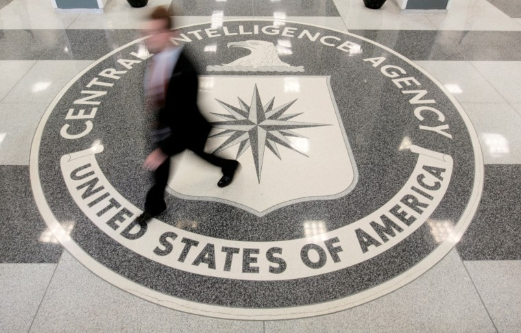 Image: The lobby of the CIA Headquarters Building in Langley