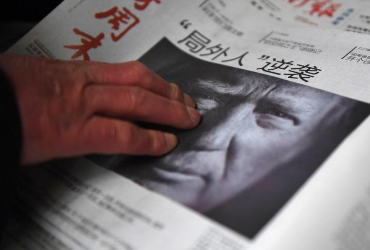 Image: CHINA-US-VOTE