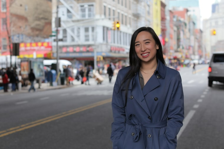 Yuh-Line Niou is the first Asian American to represent New York's 65th Assembly District, which contains much of Lower Manhattan, including the island's Chinatown.