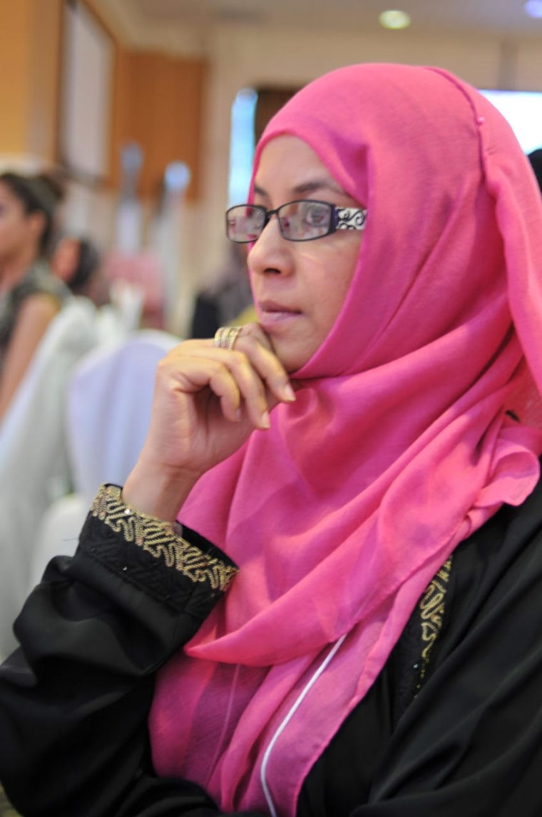 Tanweer Ebrahim, the director of the Vancouver-based NISA Helpline, which is targeted at Muslim women.