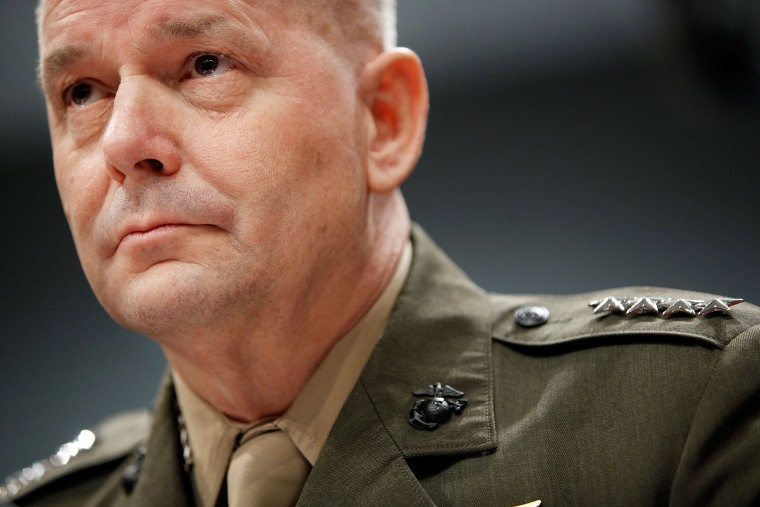 Image: Vice Chairman of the Joint Chiefs of Staff Gen. James Cartwright prepares to testify before the House Armed Services Committee about missile defense October 1, 2009 in Washington, D.C.
