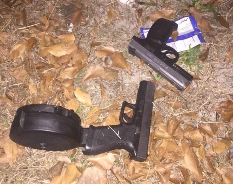 IMAGE: Orlando suspect's weapons