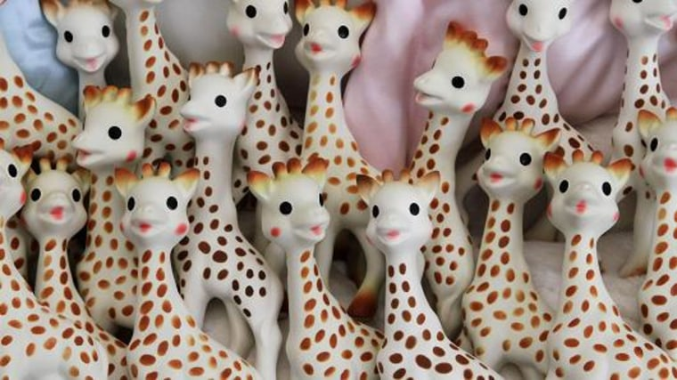 Don't Panic Over That Sophie the Giraffe Mold