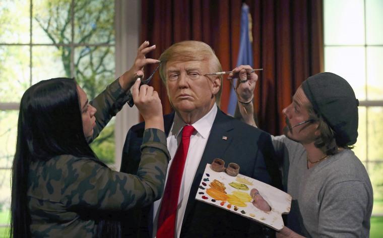 Image: Donald Trump waxwork