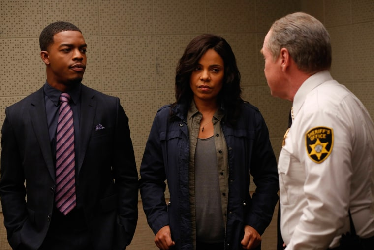 Sanaa Lathan, Stephan James and Will Patton. Courtesy of Sundance Institute.