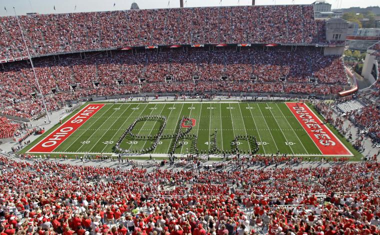IMAGE: Ohio State University marching band