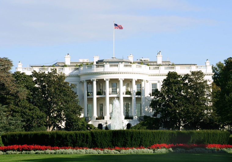 File photo of the White House exteriors.