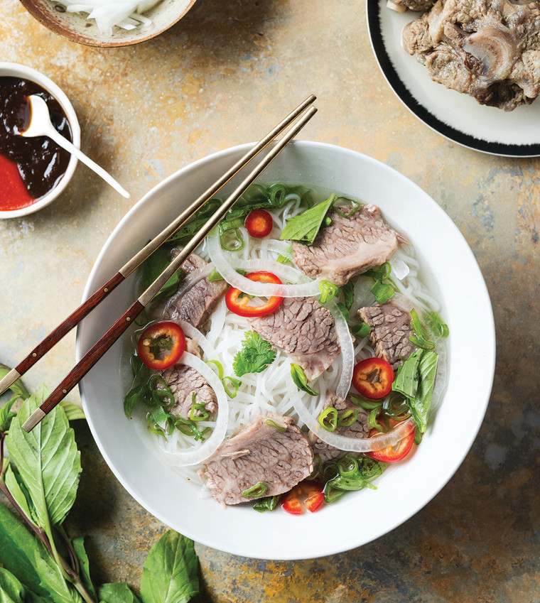 """Mama's beef pho by Helene An from """"An: To Eat"""""""