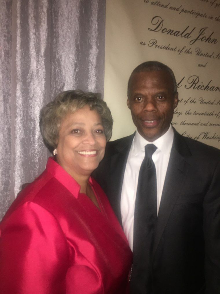 Image: Former George W. Bush appointee, Kay Coles James, and former Congressman, J.C. Watts were among the prominent African American Republicans attending a gala in D.C. on Wednesday night at the Mayflower Hotel.
