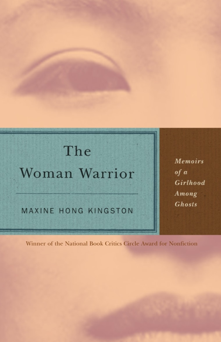 'The Woman Warrior: Memoirs of a Girlhood Among Ghosts' by Maxine Hong Kingston.