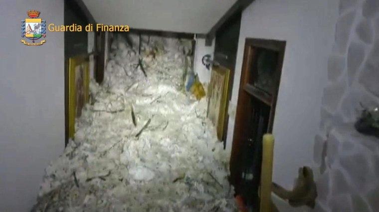 Image: Hotel Rigopiano in Farindola, Italy
