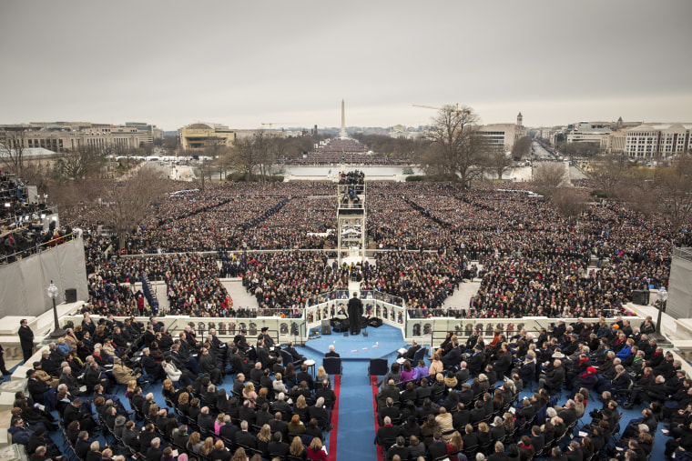 Image: President Barack Obama is inaugurated for a second term as President on the West Front of the U.S. Capitol on Jan. 21, 2013 in Washington, D.C.