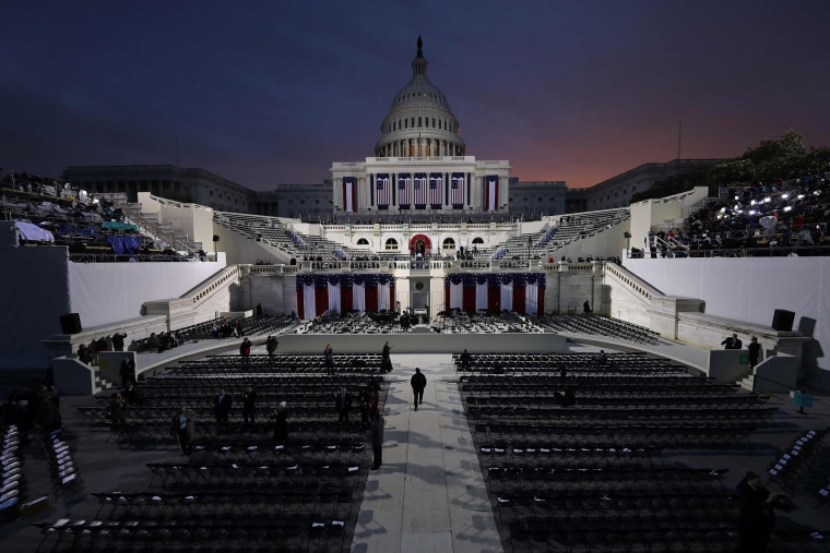 Image: TOPSHOT-US-POLITICS-TRUMP-INAUGURATION-PREPARATIONS
