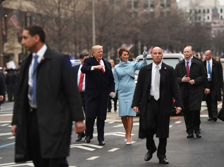 Image: US-POLITICS-INAUGURATION-PARADE-TRUMP