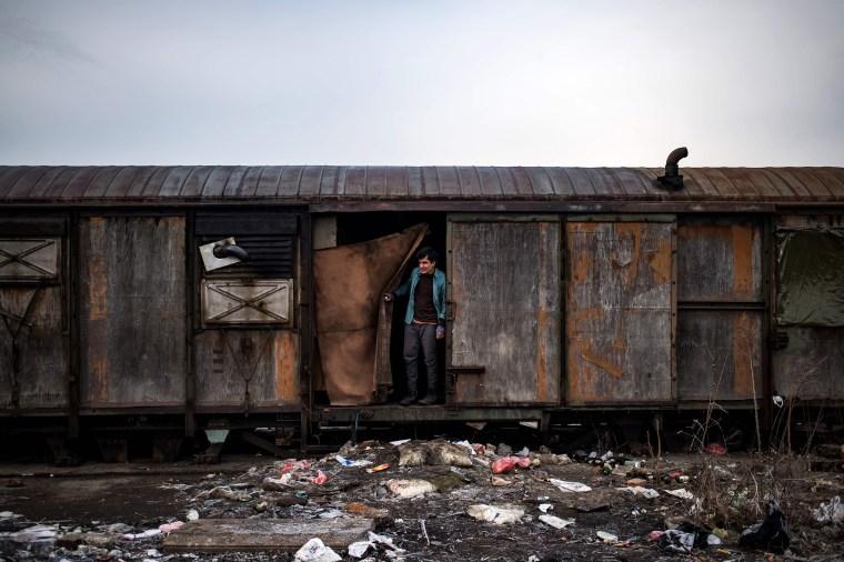 Image: TOPSHOT-SERBIA-EU-MIGRANTS