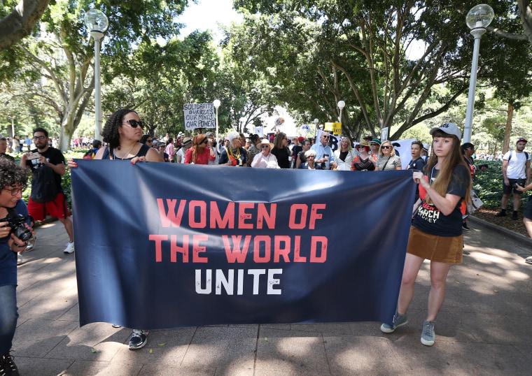 AUSTRALIA-US-WOMEN-POLITICS-INAUGURATION-PROTEST