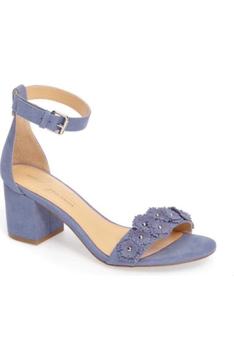 Zendaya block heels