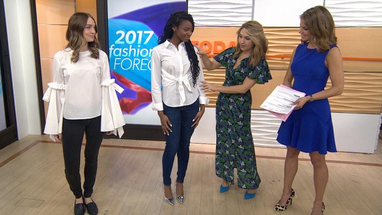 Fashion segment on TODAY