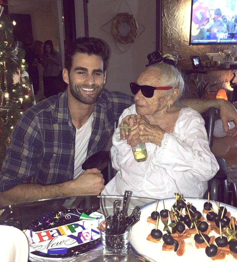 Actor Chris Salvatore took in his 89-year-old neighbor, Norma Cook, who has leukemia