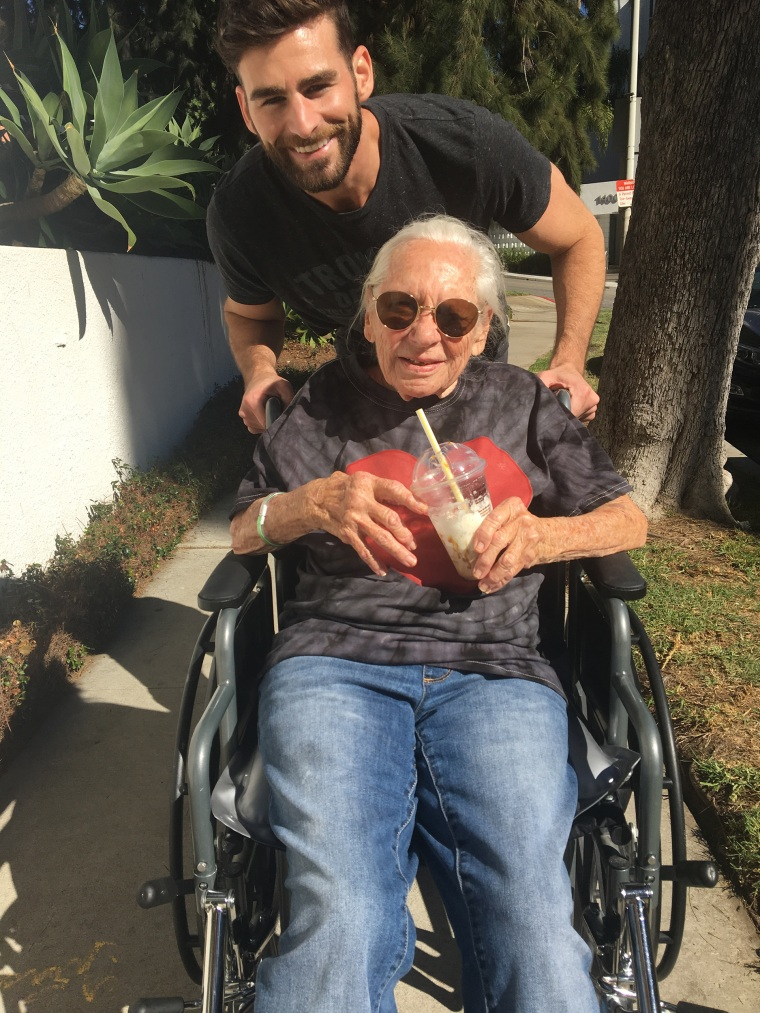 31-year-old Hollywood actor, Chris Salvatore, recently took in his 89-year-old neighbo,r Norma Cook, who has leukemia