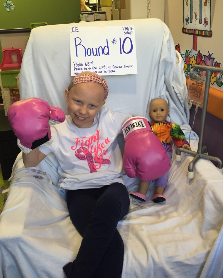 Bentley says watching their daughter battle cancer was a horrifying experience for herself and her husband, Rod.